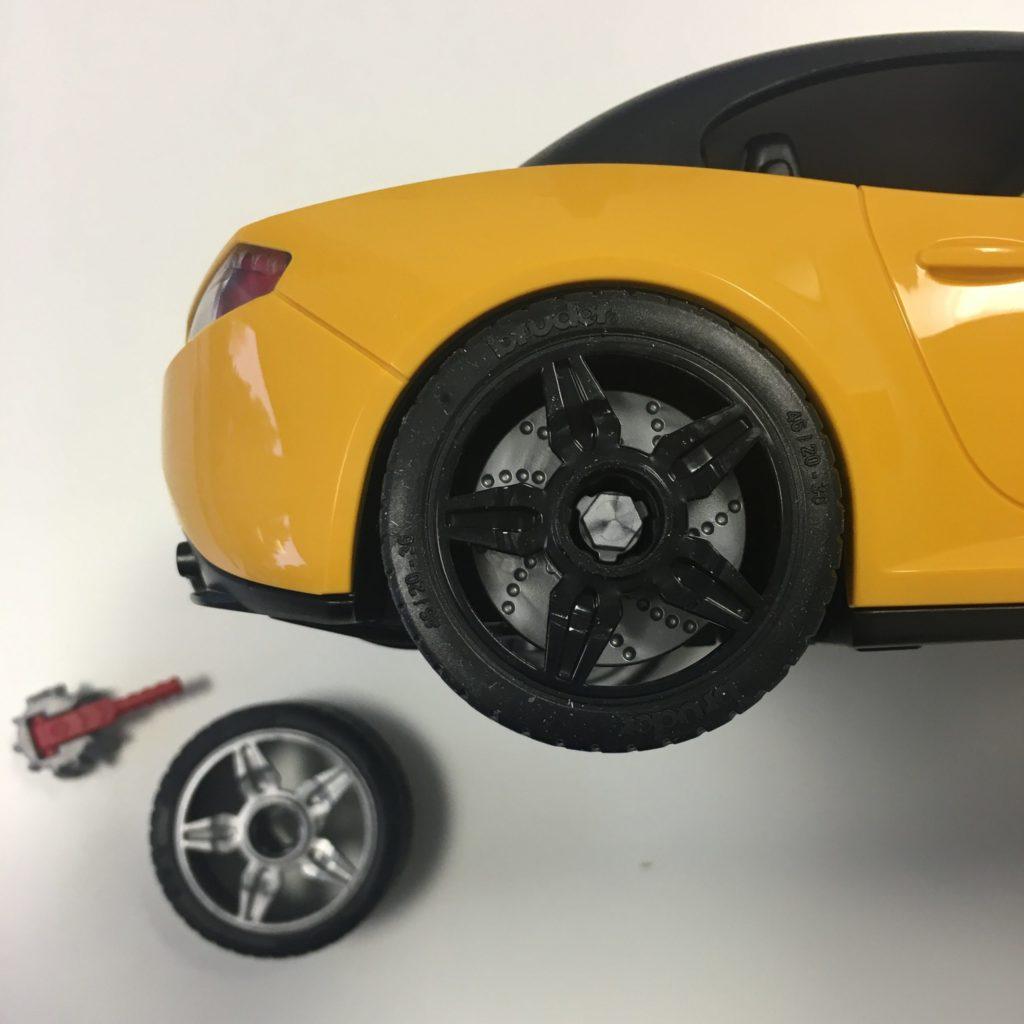 bworld PKW Werkstatt Roadster schwarze Felge